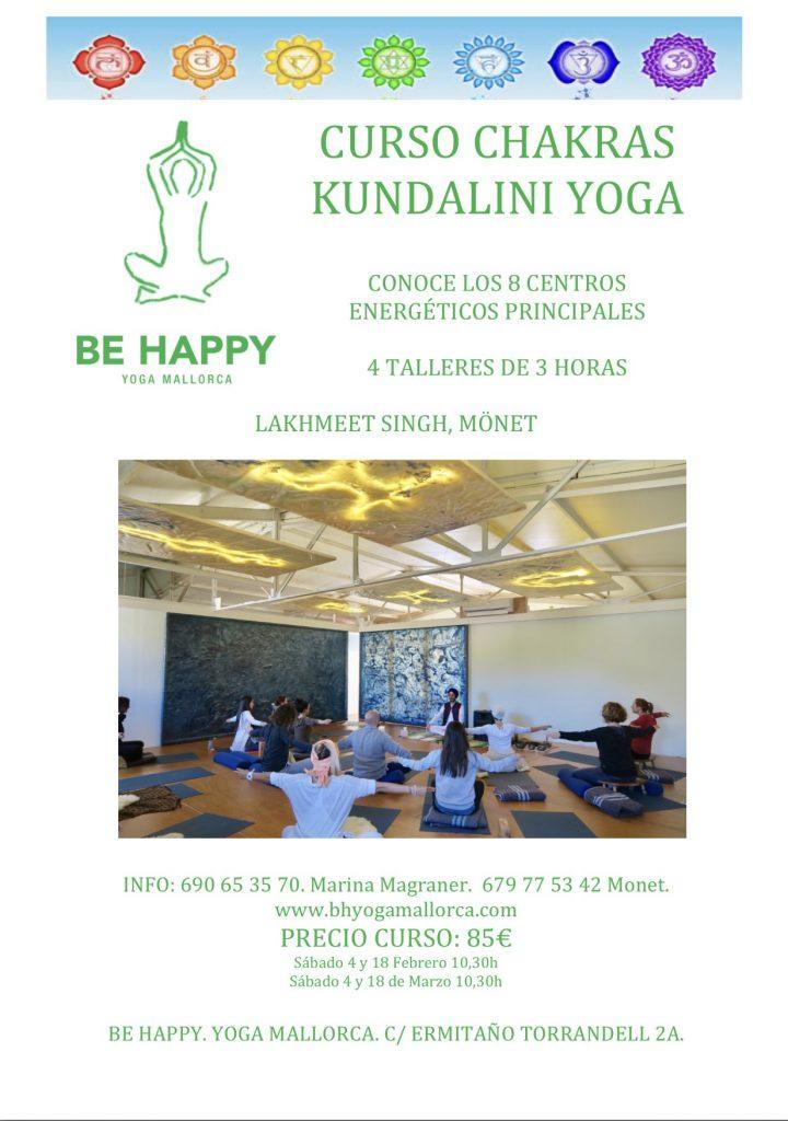 curso chakras cundalin yoga pollensa
